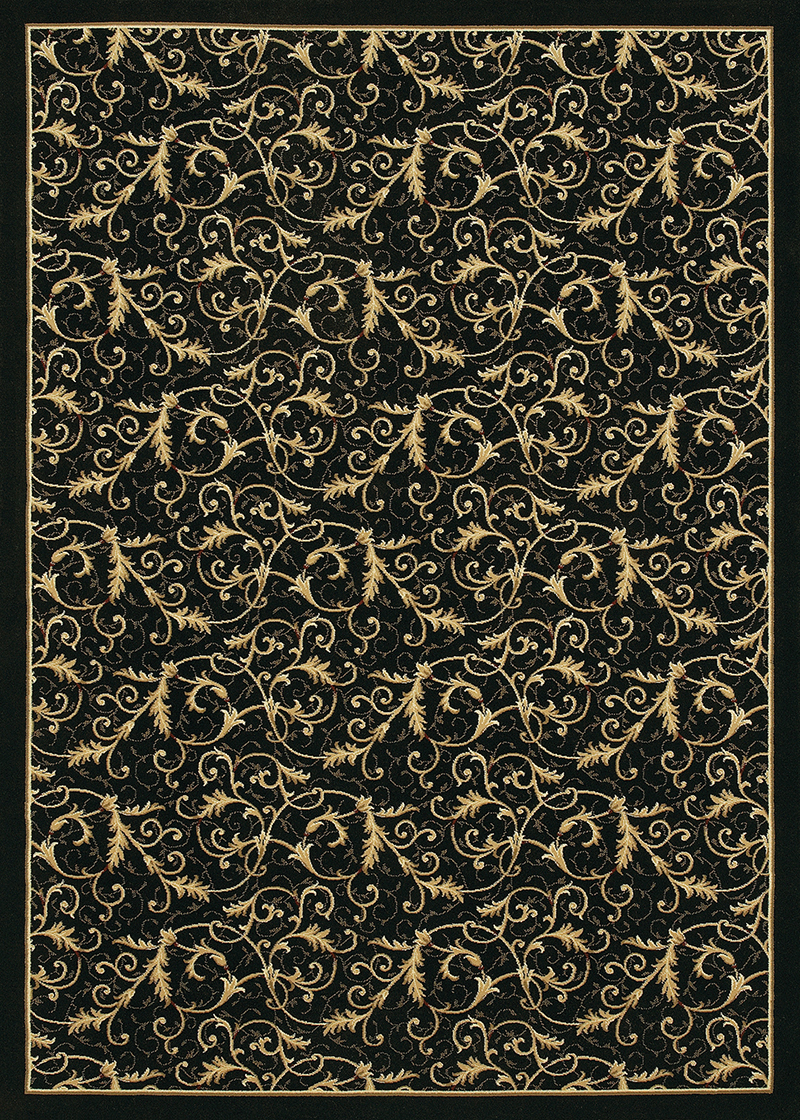 3318/4480A Royal Scroll/Ebony