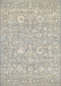 6340/0001A Persian Arabesque/Charcoal-Ivory
