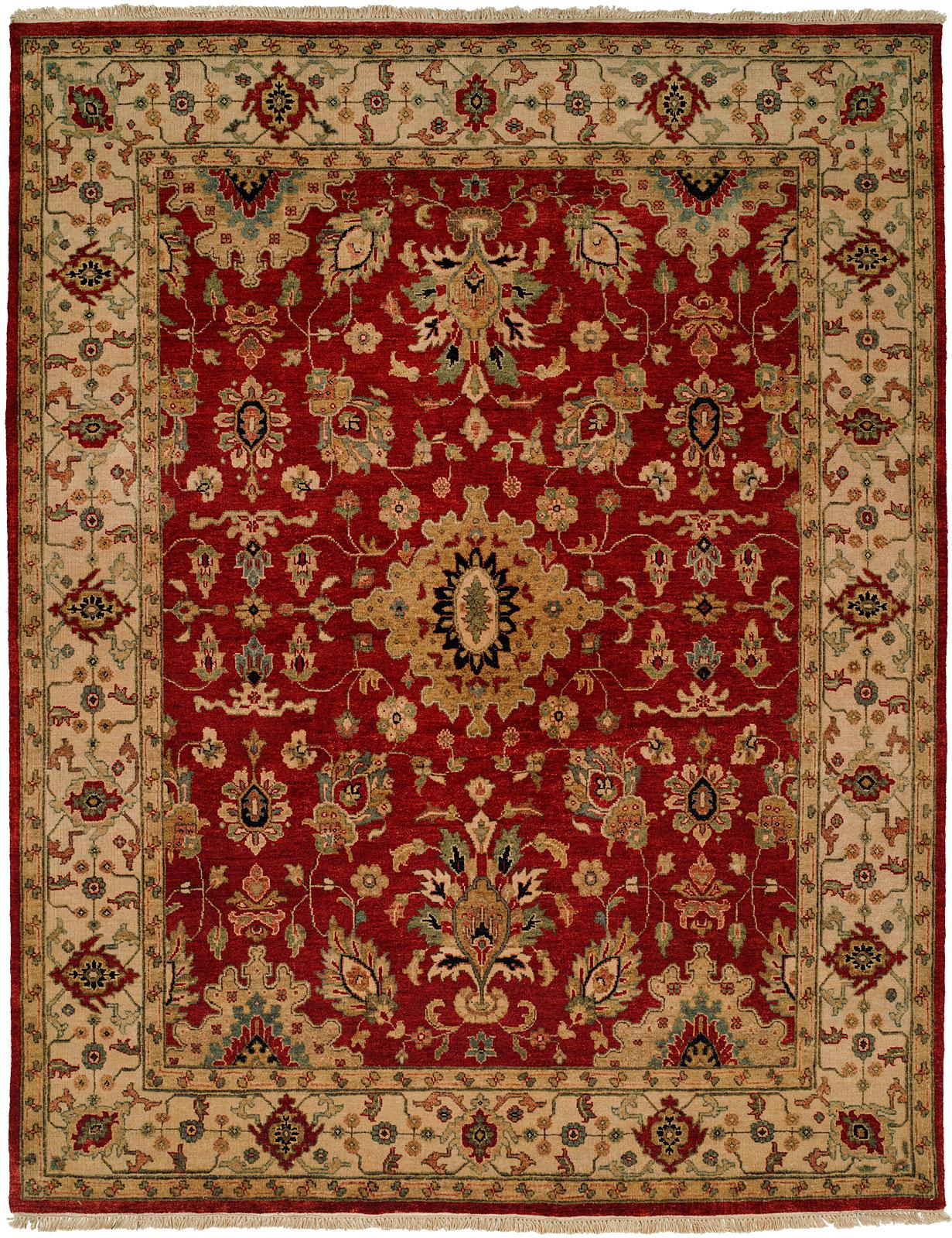 OU-407 Red/Ivory